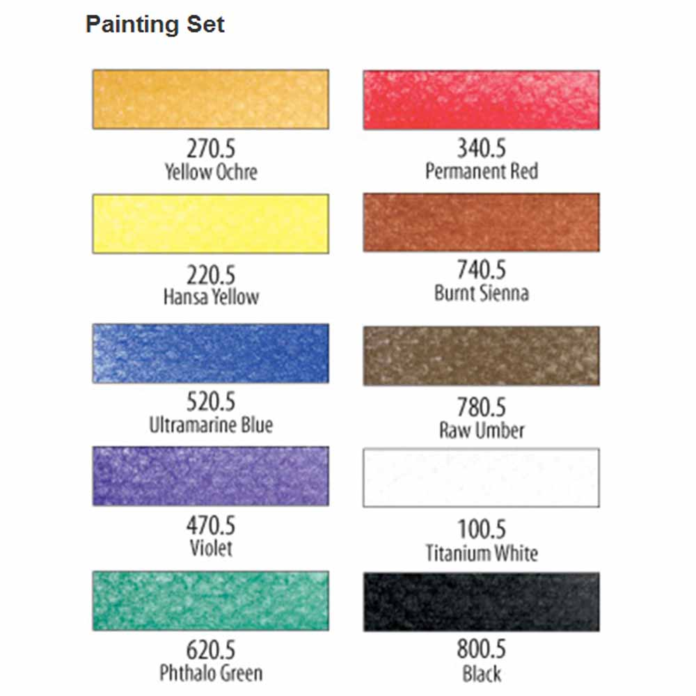 PanPastel Painting Set of 10