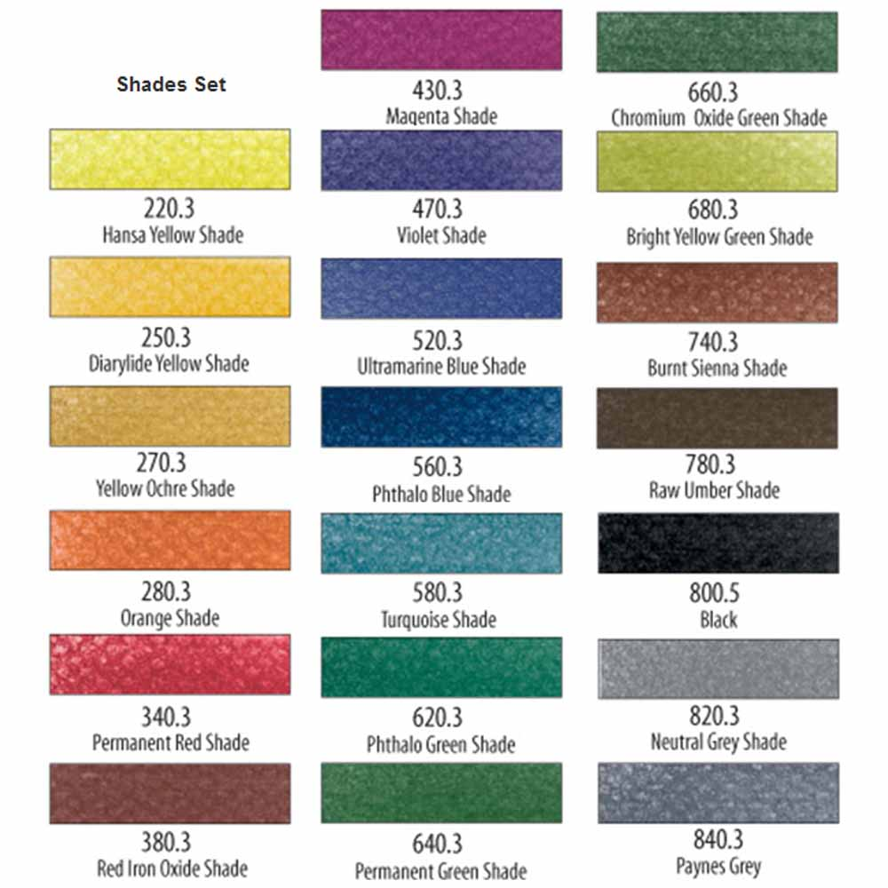 PanPastel Shades Set of 20